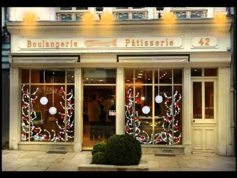 D cor de vitrine de boulangerie festilight youtube for Decoration vitrine
