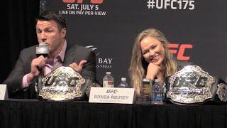 Ronda Rousey Fought Chael Sonnen? Sonnen Tells the True Tale