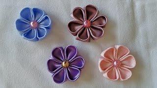 Florzinha de cetim