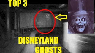 3 Ghost Sightings at Disneyland