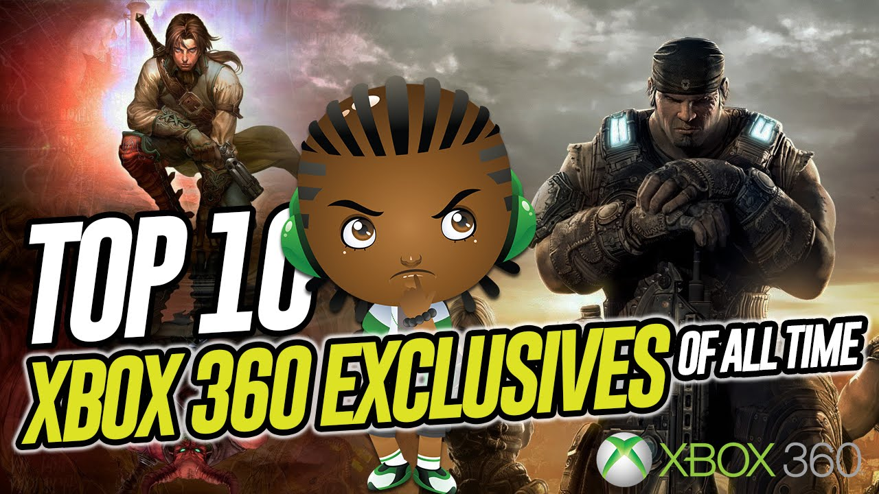 Top 10 Xbox 360 Exclusive Games Xbox 360 Best Exclusives Games Best 10 Games Only On Xbox 360 Youtube