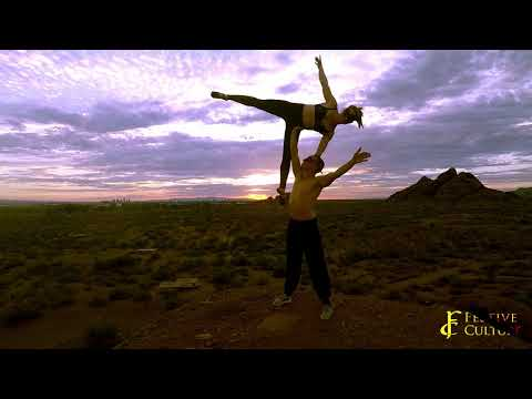 Acroyoga with Kira and Brian Theer