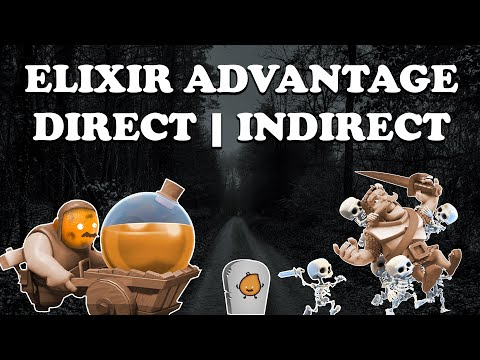Clash Royale | Building Elixir Advantages with Elixir Collector ...