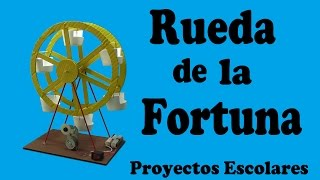 Repeat youtube video Cómo Hacer una Rueda de la Fortuna Casera (muy fácil de hacer)
