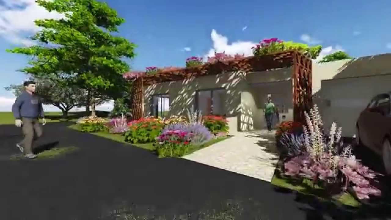 Visuel réaliste Maison T3, Plain pied, Double garage, Ref T_15168_D ...