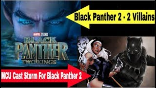 Black Panther 2 Villain Marvel Casts Storm In Black Panther 2 Secondary Villain In Black Panther 2