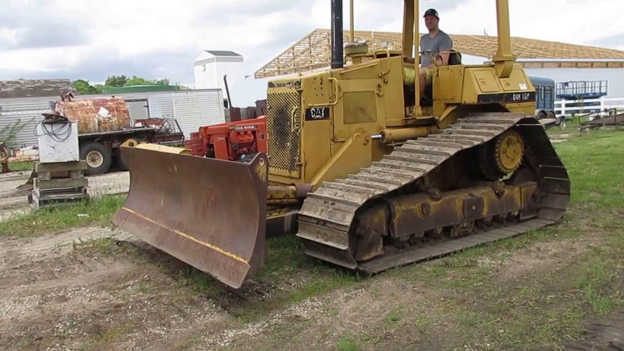 1990 Caterpillar D4H Crawler Tractor with Blade