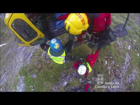 Rescatado un montañero inglés en Los Picos de Europa