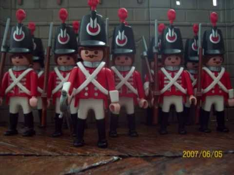 Playmobil soldats du premier empire 2 youtube - Playmobil soldat ...