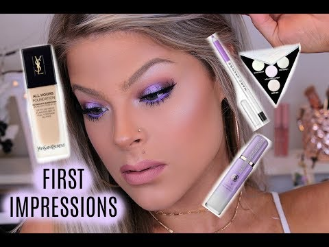 FIRST IMPRESSIONS / YSL, MARC JACOBS , KVD & MORE | Valerie pac