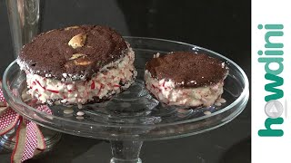 How to Make Peppermint Ice Cream Sandwiches