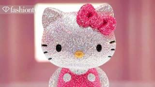 hello kitty by swarovski ft may j iconiq tokyo fashion news 71 japan 2011 fashiontv ftv