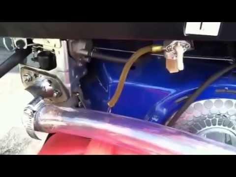 Gas vapor engine test # 3