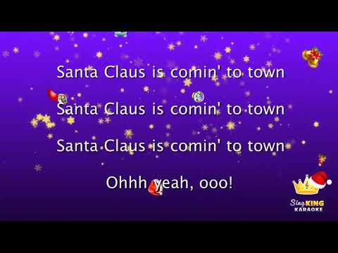 11N Tinsel Day Santa Claus is coming to town