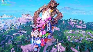 Fortnite Robot vs Monster Epic Fight Event
