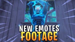 *NEW* LEAKED FIRST LOOK AT 4 UNRELEASED DANCES/EMOTES! - Fortnite: Battle Royale