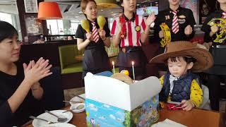 재희의 생일을 축하해 with t.g.i friday&…