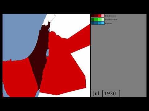Intercommunal Violence in Mandatory Palestine - Every Month (1920-39)