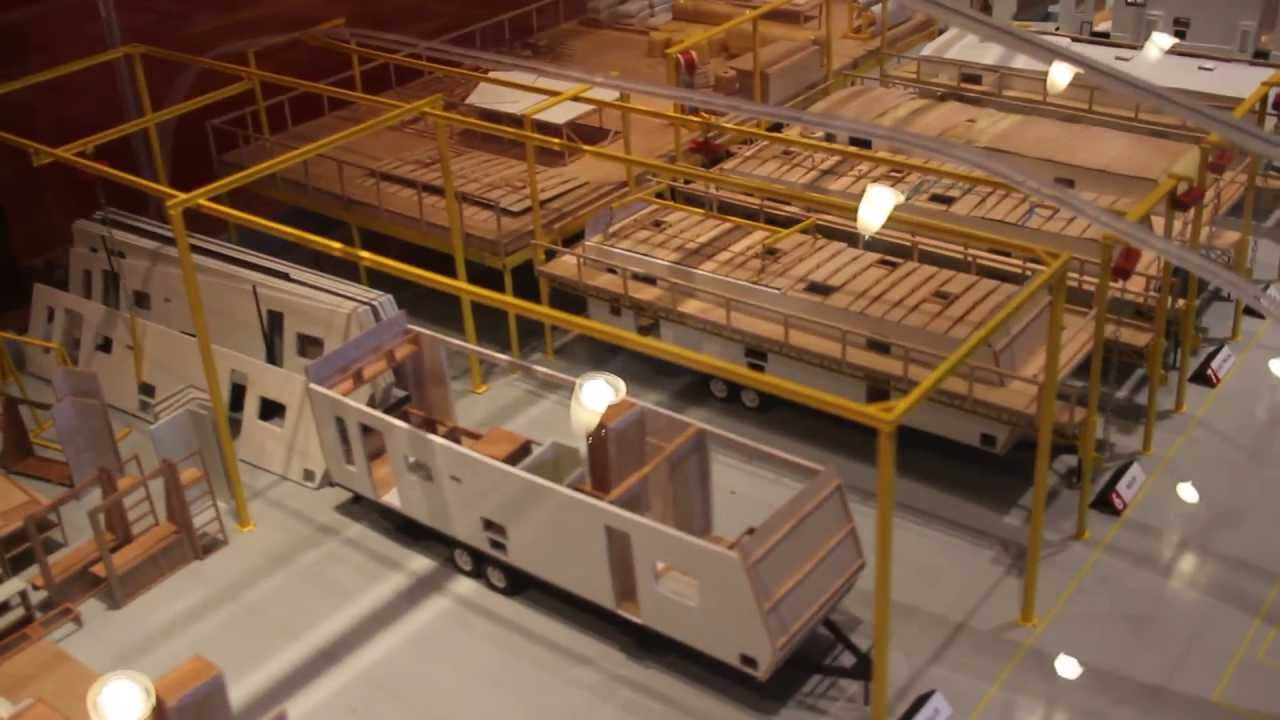 Rv Hall Of Fame >> Scale Model RV Factory - YouTube
