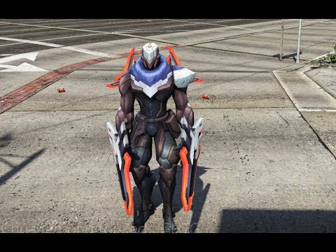 GTA 5 - Trở thành Chúa tể bóng tối Zed - tướng LMHT | GHTG