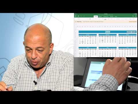 Así funciona Office en iPad