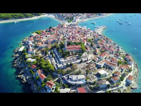 Primosten Croatia Drone Footage 2017 Summer Youtube