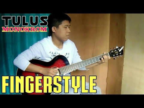 TULUS - Monokrom (fingerstyle gitar cover) Rivo lindo