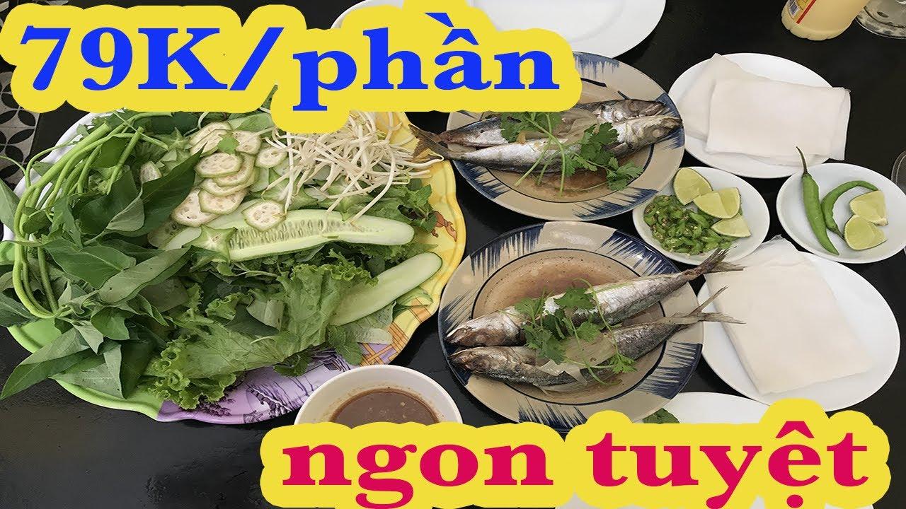 Đặc sản cá nục cuốn bánh tráng| Quán mì quảng Mỹ Sơn
