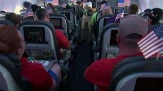 Honor Flight salutes Vietnam veterans
