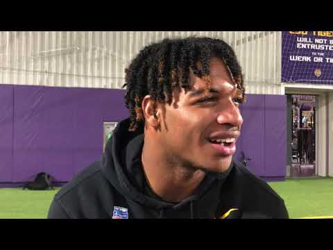 LSU WR Ja'Marr Chase discusses wide receivers' progress, Terrace Marshall Jr.'s return