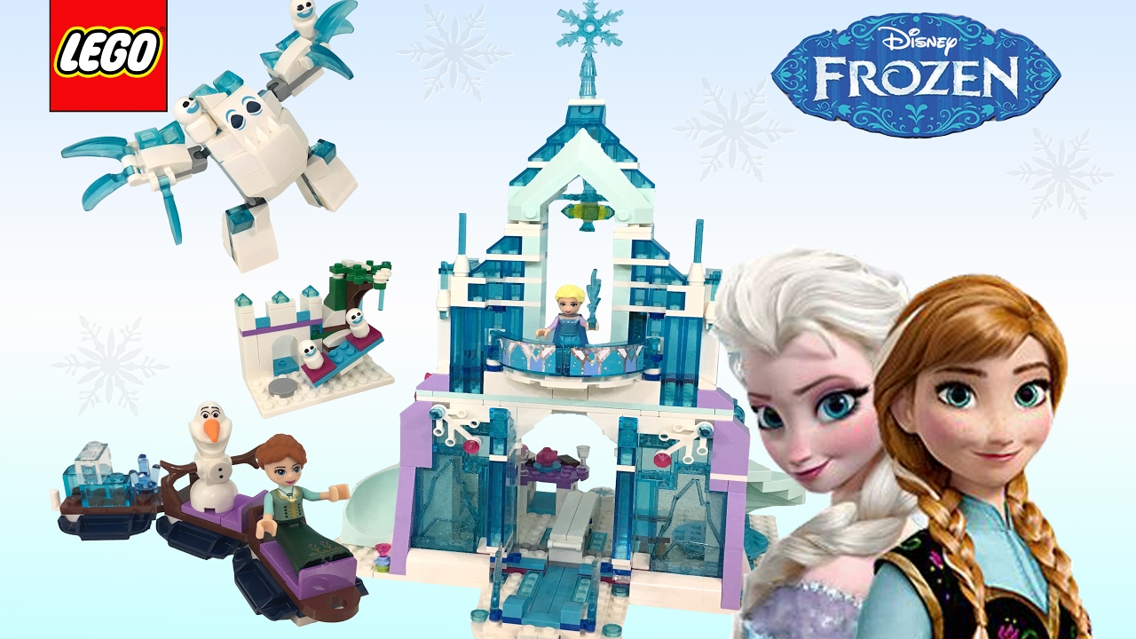 LEGO Disney 41148 Elsa/'s Magical Ice Palace Frozen Fever