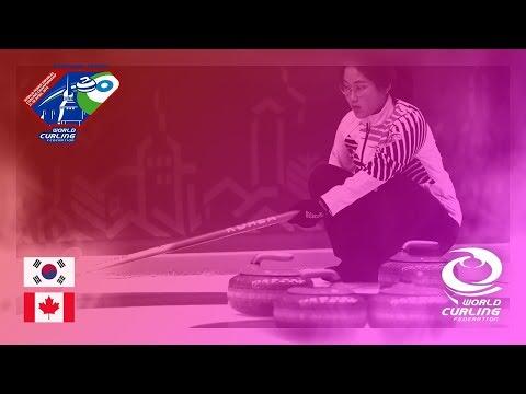 Korea v Canada - Round-robin - World Mixed Doubles Curling Championship 2018
