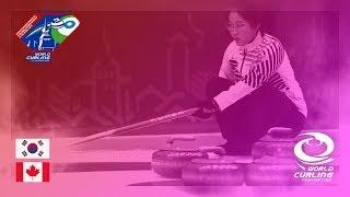 Korea v Canada - Round-robin - World Mixed Doubles Curling Championship 2018 thumbnail