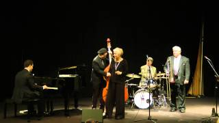 """DRUM BOOGIE"": REBECCA KILGORE QUINTET feat. JEFF HAMILTON (March 8, 2014)"