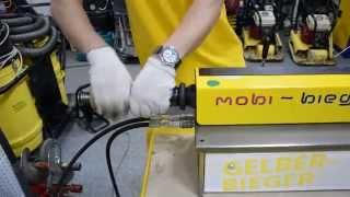 Гидравличесий станок для гиби аратуры, полосы, металла Mobi Bieger   YouTube