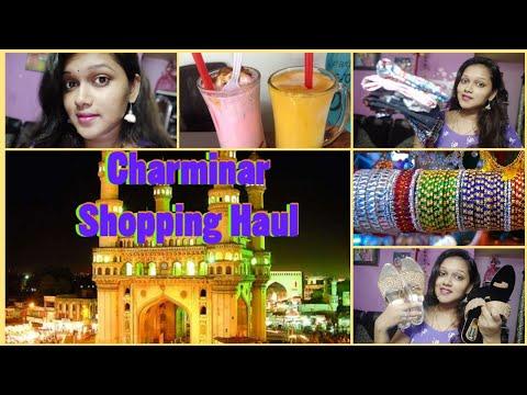Hyderabad Charminar||Koti Street Shopping Haul||Clothing||Footwear||Lassi Shop||
