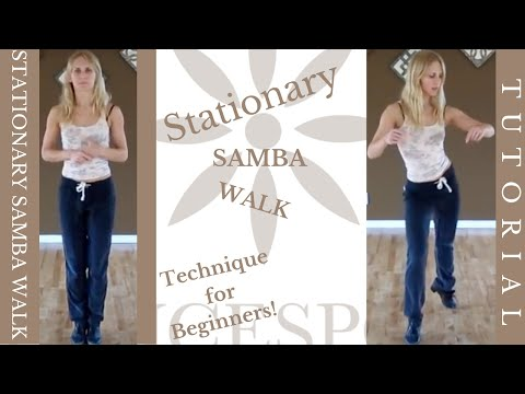 Stationary Samba Walk - Ottawa Dance Sport Studio