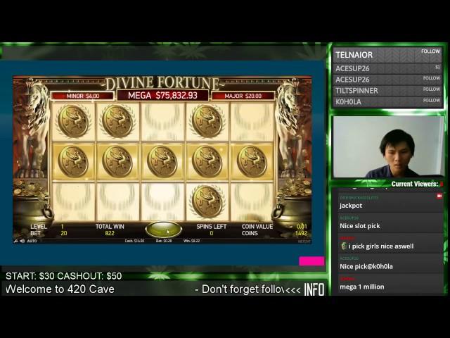 So Close Mega Jackpot Divine Fortune