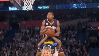 Glenn Robinson III Hangs in the Air for 4th &...