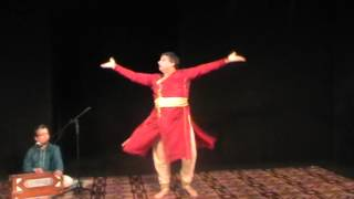 Traditional Kathak Solo Performance by Guru Ashwani Nigam
