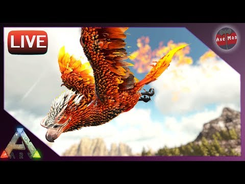 🔴THIS TIME WE ARE PREPARED TO TAME THE PHOENIX 🔴| ARK SURVIVAL EVOLVED 💪 | LIVE STREAM