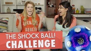 SHOCK BALL CHALLENGE w/ NIKKI LIMO // Grace Helbig