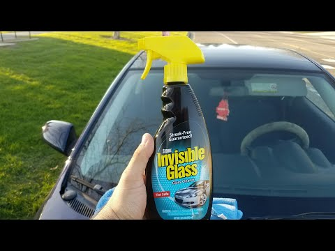 Ways to clean you car's windshield- Inside and Out