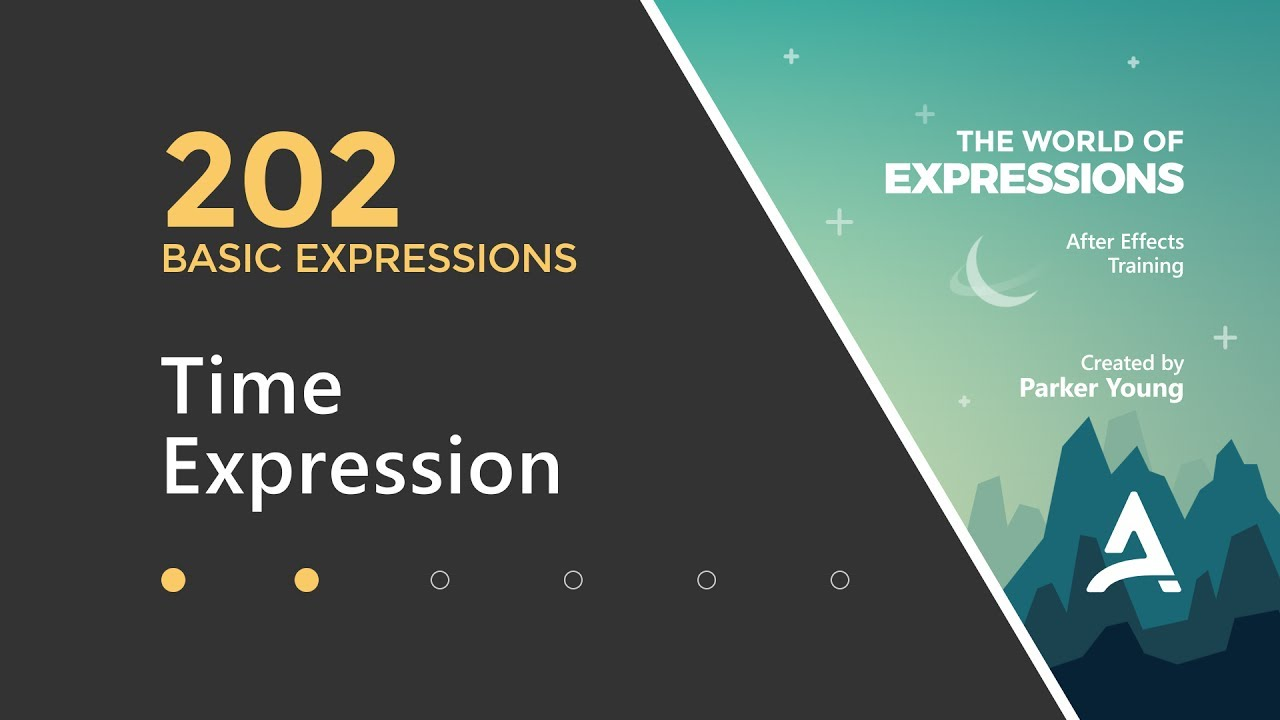 After Effects Expressions 202 - Time Expression