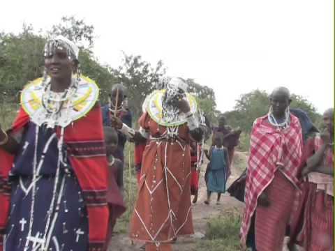 Maasai Traditional wedding