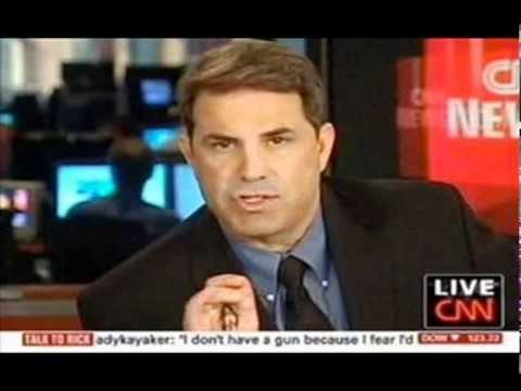 "CNN""s Rick Sanchez Calls Jon Stewart a Jewish Bigot - Full Interview 1/2"