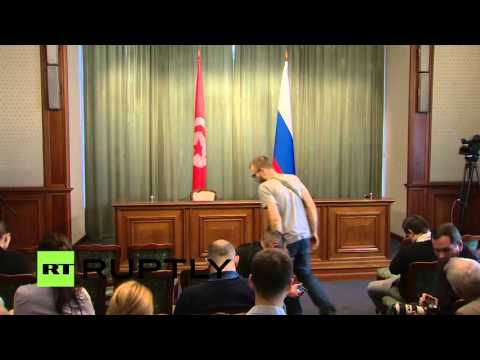 LIVE: Lavrov holds joint press conference with Tunisian FM Jhinaoui