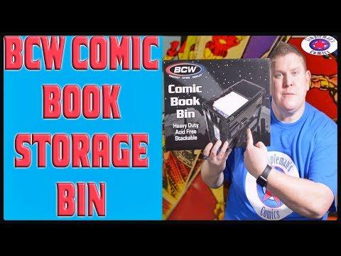 BCW Comic Book Storage Bin Review