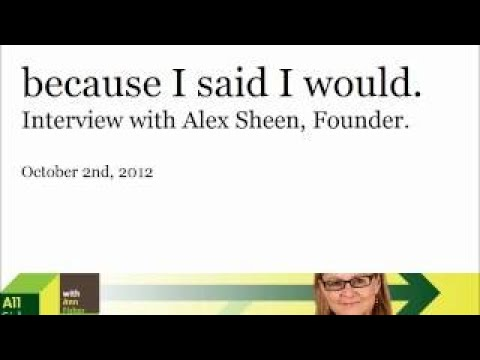 Because I Said I Would. Interview With Ann Fisher, NPR WOSU 89.7