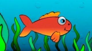 Çocuk şarkıları - Kırmızı balık gölde (orijinal müzik ve sözleri)